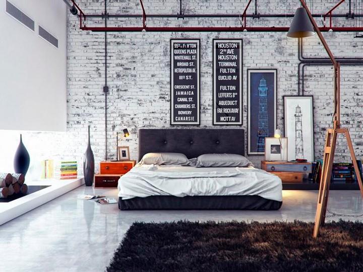 Design industrial em apartamentos