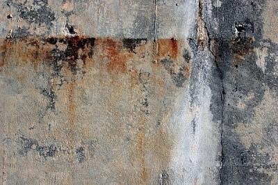 Descoloração e manchas no concreto