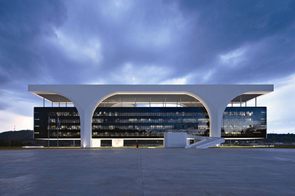 Grande vão - Cidade Administrativa de Minas Gerais