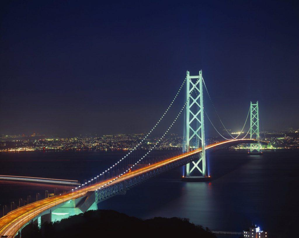Grande vão - Ponte Akashi-Kayko