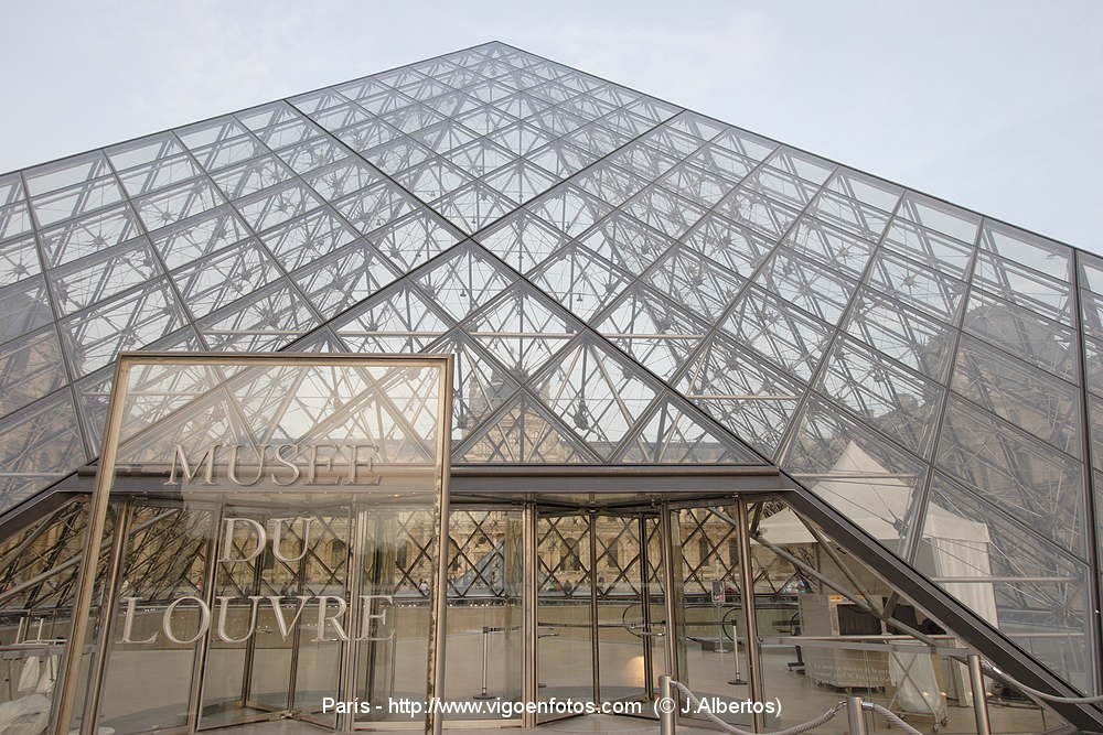 Laje nervurada pelo mundo: Museu do Louvre