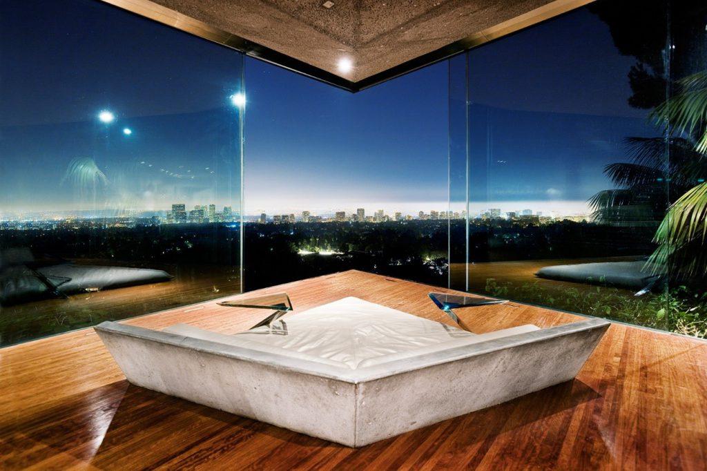 Laje nervurada pelo mundo: Sheats-Godstein Residence
