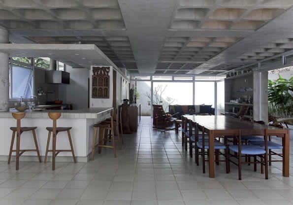 Concreto Aparente - Arquitetura Modernista