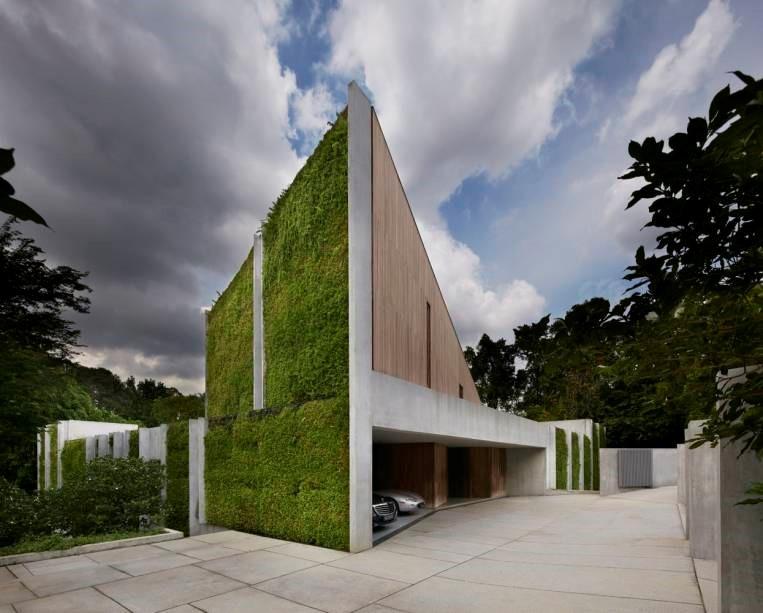 Construções Sustentáveis - Paredes verdes