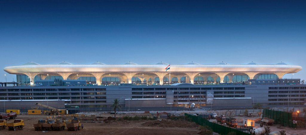 lajes nervuradas Aeroporto Chhatrapati Shivaji