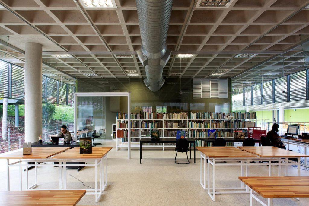 Centro Educativo Burle Marx área de estudo
