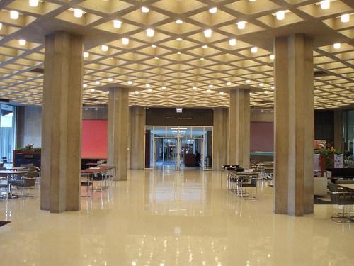 Laje Nervurada pelo mundo - D'Angelo Law Library - Salão Principal