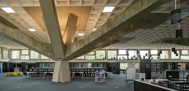 Laje Nervurada pelo mundo: Alcuin Library