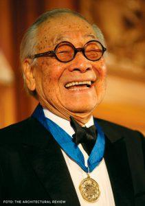 I. M. Pei recebeu a medalha de ouro do Royal Institute of British Architects