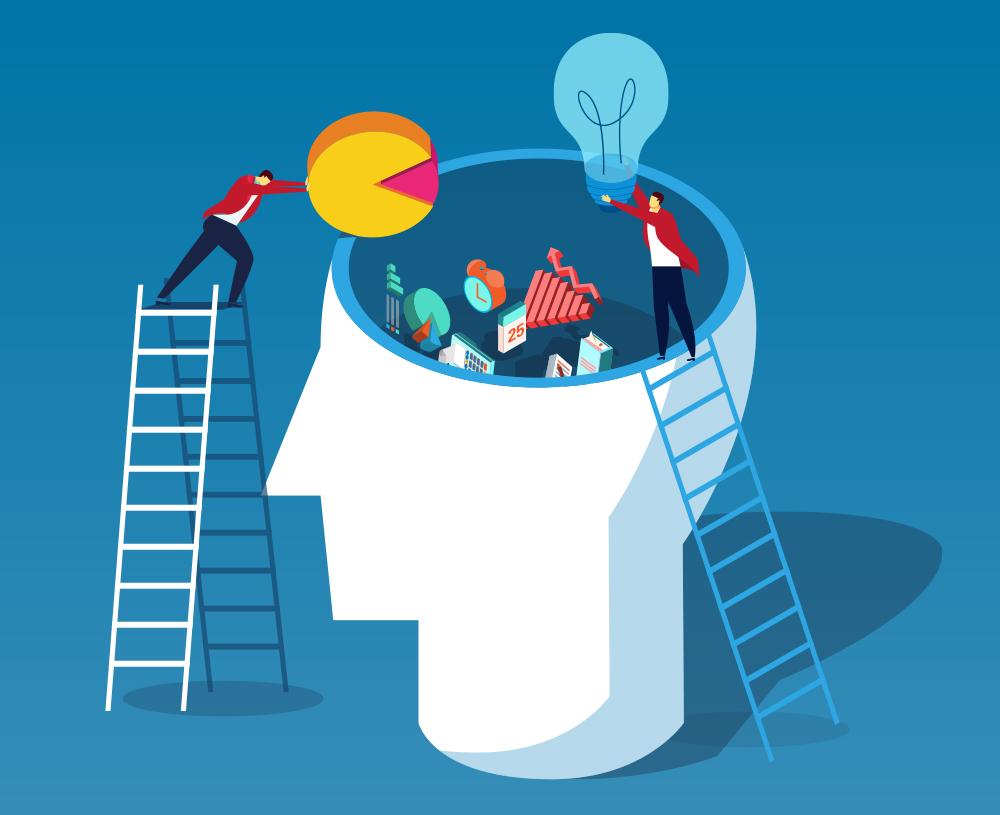 imagem ilustrativa mostrando subjetivamente como surge a inovação