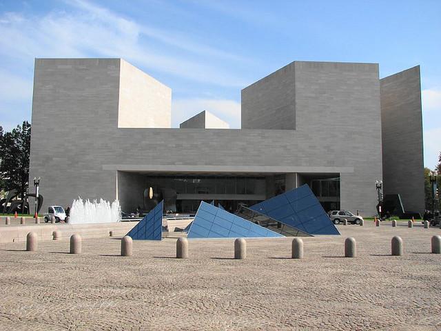 Fachada da Galeria National de Arte de Washigton